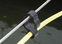 Boat hook / S-shape / lifeline for electrical cable