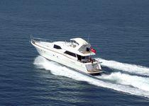 Cruising motor yacht / flybridge / displacement hull / 4-cabin