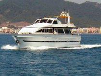 Cruising motor yacht / flybridge / displacement hull / 5-cabin