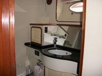Cruising motor yacht / flybridge / displacement hull / 3-cabin