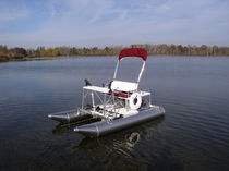 2-place pedal boat / aluminum