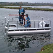 Floating dock / work / for marinas / aluminum