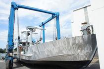 Aluminum aquaculture boat