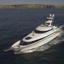 Sport-fishing luxury super-yacht / raised pilothouse / flybridge / composite