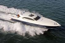 High-speed motor yacht / hard-top / composite / aluminium