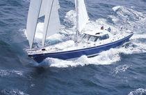 Cruising sailing yacht / center cockpit / aluminum
