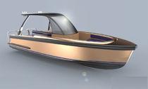 Inboard center console boat / dive / aluminum / yacht tender