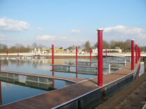 Floating dock / mooring / for marinas / aluminum