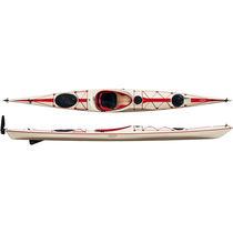 Rigid kayak / sea / 1-person / composite