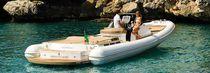 Inboard inflatable boat / RIB / center console / 18-person max.