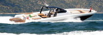Inboard inflatable boat / RIB / center console / with cabin