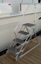 Dock ladder / lateral / boarding / manual