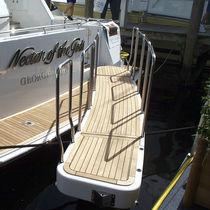 Boat gangways / rotary / hydraulic