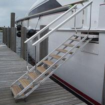 Yacht ladder / telescopic / boarding / manual