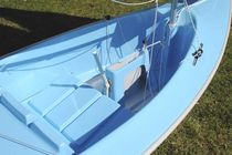 Disabled person sailing dinghy / instructional / recreational