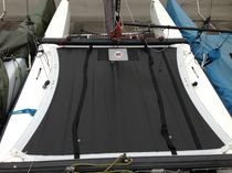 Multihull trampoline