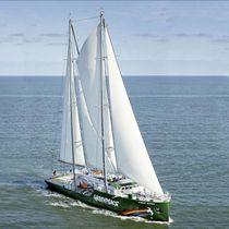 Cruising sailing super-yacht / wheelhouse / sloop