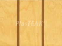 Boat floor covering / vinyl / imitation wood