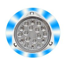 Underwater boat light / LED / surface-mount / multi-color