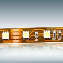 Outdoor light strip / for boats / LED / flexible