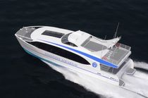 Catamaran sightseeing boat