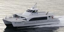 Catamaran passenger boat / inboard