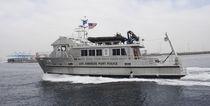 Inboard patrol boat / catamaran / aluminum
