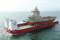 Cargo barge cargo ship