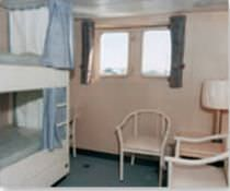 Ship prefabricated cabin