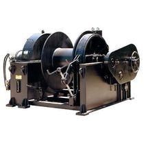 Ship winch / anchor / hydraulic drive / single-drum