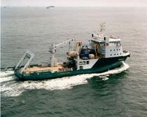 Platform inspection/maintenance/repair vessel (IMR) offshore support vessel
