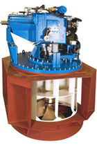Ship thruster / azimuth / bow / diesel engine