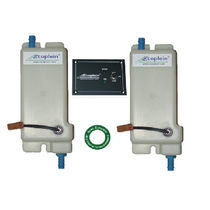 Integrated anti-overflow system / plastic / for boat fuel tanks