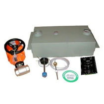 Boat fuel tank anti-overflow system