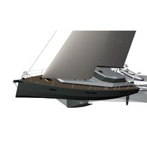 Cruising sailing yacht / expedition / with enclosed cockpit / aluminum