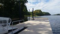 Floating dock / mooring / for marinas / for rowing