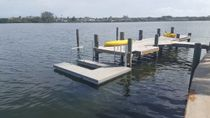 Floating dock / mooring / for leisure centers / canoe/kayak