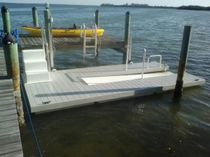 Floating dock / mooring / for marinas / canoe/kayak