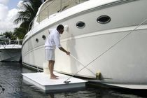 Floating dock / work / for marinas