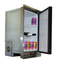 Boat refrigerator / built-in / AC/DC