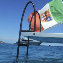 Boat ladder / for yachts / hook / swim