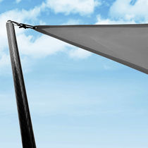 Yacht awning pole