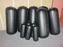 Boat fender / cylindrical / inflatable