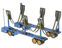 Heavy-duty handling trailer / launching / shipyard / self-propelled