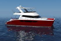 Catamaran express cruiser / inboard / flybridge