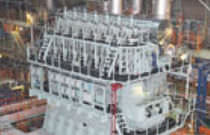 Medium-speed ship engine / diesel / gas / dual-fuel