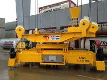 Mobile harbor crane spreader / for containers / telescopic