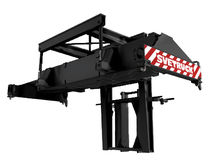 Forklift truck spreader / beam type