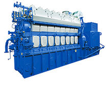 Auxiliary engine / for ships / medium-speed / diesel