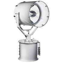 Search floodlight / for ships / short-arc xenon / remote-controlled